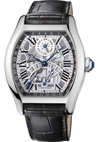 Cartier Watches - Tortue Perpetual Calendar - Style No: W1580048