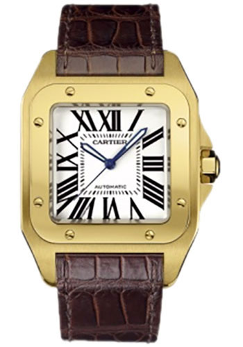 Cartier Watches - Santos 100 Large - Style No: W20071Y1