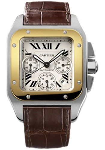 bc2ed01beee6 Cartier Style No  W20091X7. Cartier Santos 100 Watches