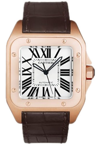 Cartier Watches - Santos 100 Large - Style No: W20095Y1