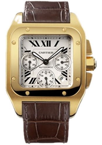 Cartier Watches - Santos 100 Extra Large - Style No: W20096Y1