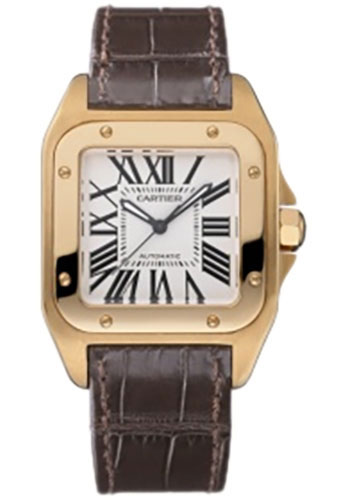 Cartier Watches - Santos 100 Medium - Style No: W20108Y1