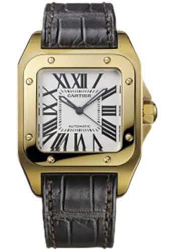Cartier Watches - Santos 100 Medium - Style No: W20112Y1