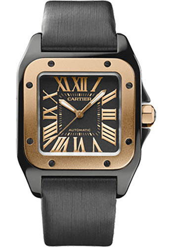 Cartier Watches - Santos 100 Medium - Style No: W2020007