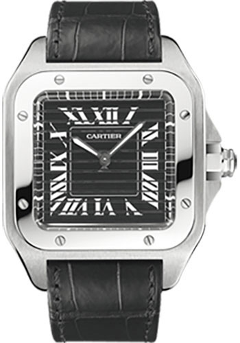 Cartier Watches - Santos 100 Triple 100 - Style No: W2020020
