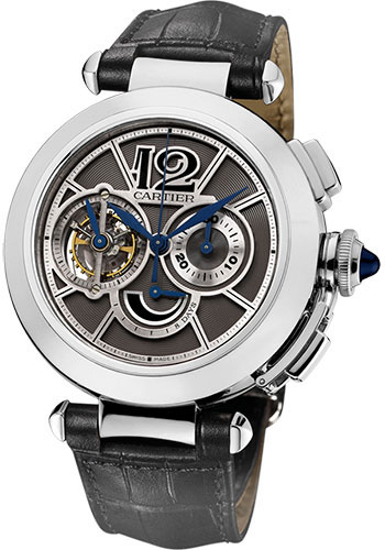 Cartier Watches - Pasha Tourbillon Chronograph - Style No: W3030013