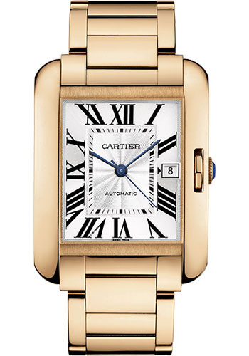 Cartier Watches - Tank Anglaise Pink Gold - Style No: W5310002