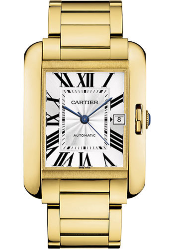 Cartier Watches - Tank Anglaise Yellow Gold - Style No: W5310018