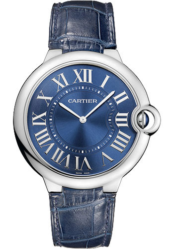 Cartier Watches - Ballon Bleu 46mm - Platinum - Style No: W6920059