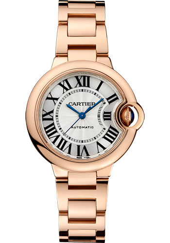 Cartier Watches - Ballon Bleu 33mm - Pink Gold - Style No: W6920096