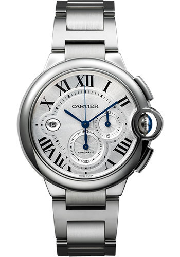 Cartier Watches - Ballon Bleu 44mm - Stainless Steel - Style No: W6920076