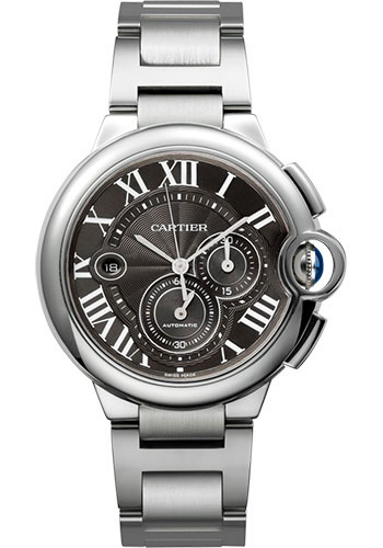 Cartier Watches - Ballon Bleu 44mm - Stainless Steel - Style No: W6920077