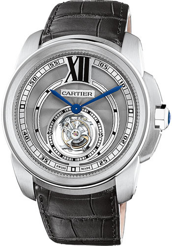 Cartier Watches - Calibre de Cartier Flying Tourbillon - Style No: W7100003