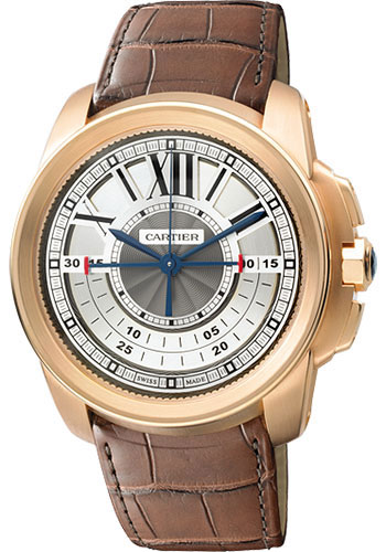 Cartier Watches - Calibre de Cartier Chronograph - Pink Gold - Style No: W7100004