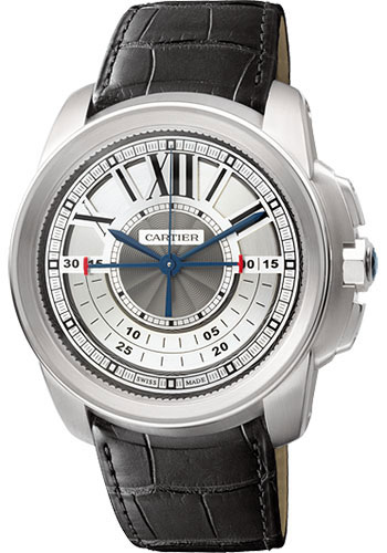 Cartier Watches - Calibre de Cartier Chronograph - White Gold - Style No: W7100005