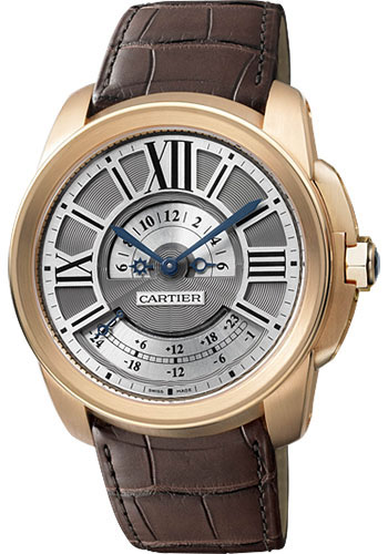 Cartier Watches - Calibre de Cartier Multiple Time Zone - Style No: W7100025