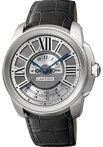 Cartier Watches - Calibre de Cartier Multiple Time Zone - Style No: W7100026