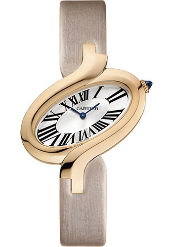 Cartier Watches - Delices de Cartier Large Pink Gold - Style No: W8100011