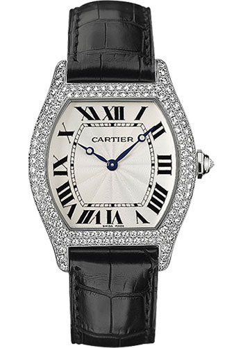 Cartier Watches - Tortue Large - White Gold - Style No: WA503851
