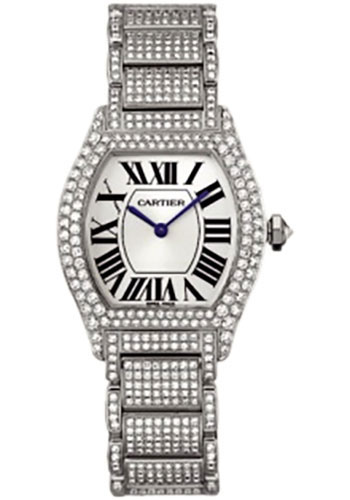 Cartier Watches - Tortue Small - White Gold - Style No: WA5049MC