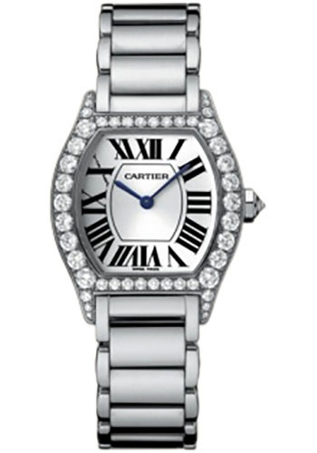 Cartier Watches - Tortue Small - White Gold - Style No: WA5072W9
