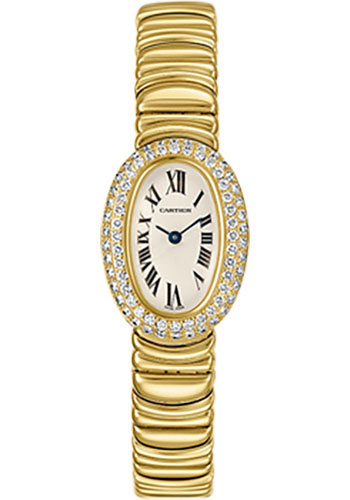 Cartier Watches - Baignoire Mini - Yellow Gold - Style No: WB5094D8