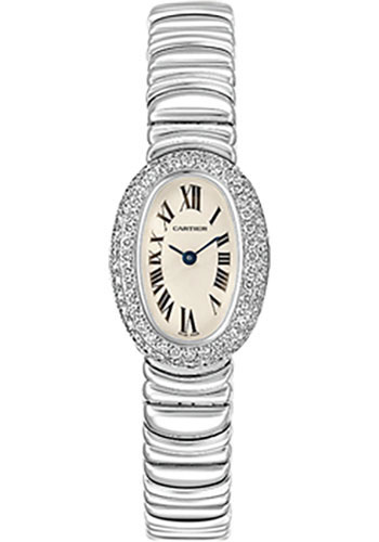 Cartier Watches - Baignoire Mini - White Gold - Style No: WB5095L2