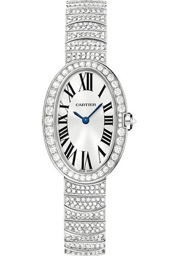 Cartier Watches - Baignoire Small - White Gold - Style No: WB520011