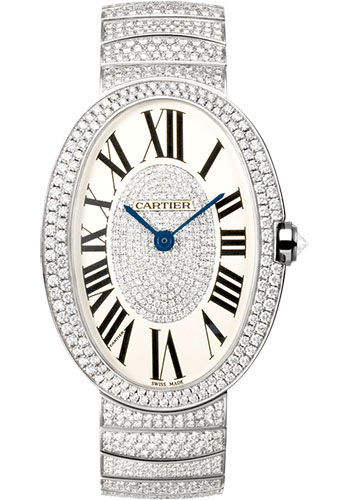 Cartier Watches - Baignoire Large - White Gold - Style No: WB520018