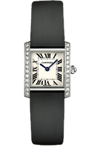 Cartier Watches - Tank Francaise Small - White Gold - Style No: WE100231