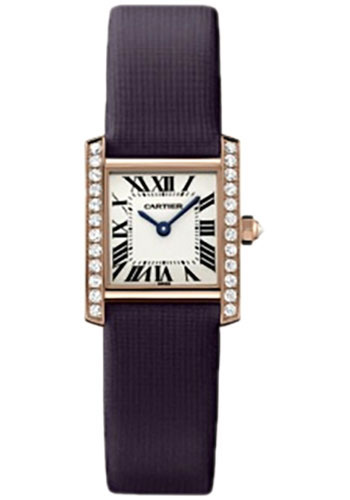 Cartier Watches - Tank Francaise Small - Pink Gold - Style No: WE104531