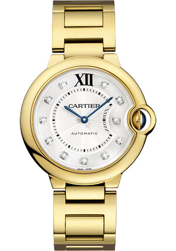 Cartier Watches - Ballon Bleu 36mm - Yellow Gold - Style No: WE902027