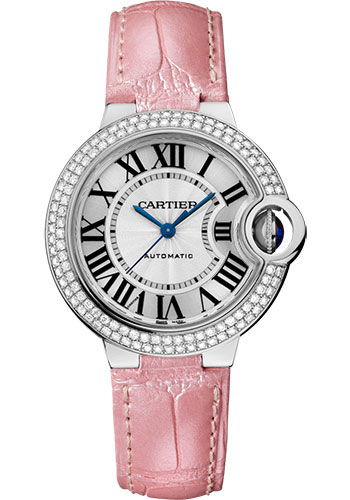Cartier Watches - Ballon Bleu 33mm - White Gold - Style No: WE902067