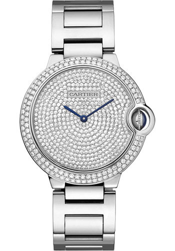 Cartier Watches - Ballon Bleu 36mm - White Gold - Style No: WE902045
