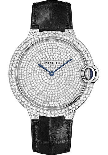 Cartier Watches - Ballon Bleu 42mm - White Gold - Style No: WE902049