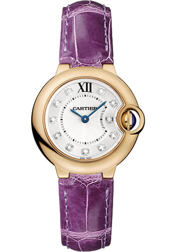 Cartier Watches - Ballon Bleu Pink Gold With Diamonds - Style No: WE902050