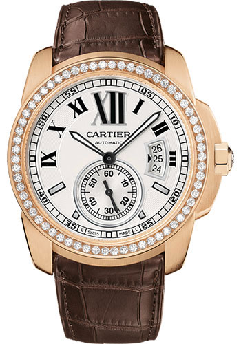 Cartier Watches - Calibre de Cartier 42mm - Automatic - Pink Gold - Style No: WF100005