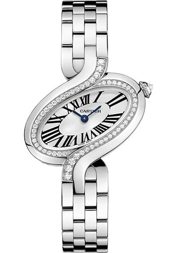 Cartier Watches - Delices de Cartier Small White Gold - Style No: WG800004