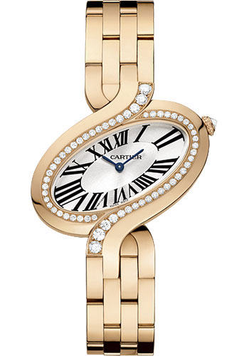 Cartier Watches - Delices de Cartier Large Pink Gold - Style No: WG800006