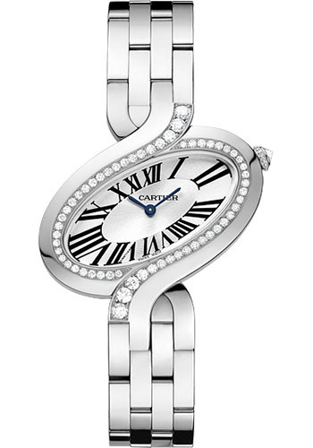 Cartier Watches - Delices de Cartier Large White Gold - Style No: WG800007