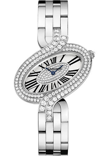 Cartier Watches - Delices de Cartier Large White Gold - Style No: WG800009