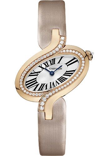 Cartier Watches - Delices de Cartier Small Pink Gold - Style No: WG800013