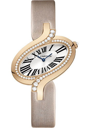 Cartier Watches - Delices de Cartier Large Pink Gold - Style No: WG800017