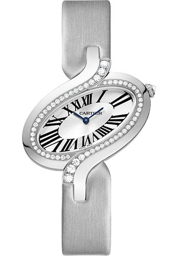 Cartier Watches - Delices de Cartier Large White Gold - Style No: WG800018
