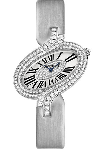 Cartier Watches - Delices de Cartier Large White Gold - Style No: WG800019