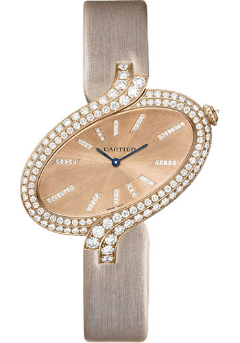 Cartier Watches - Delices de Cartier Extra Large Pink Gold - Style No: WG800020