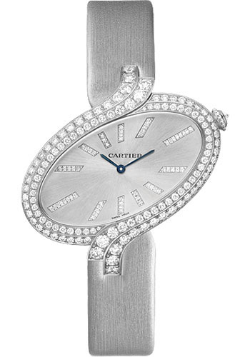 Cartier Watches - Delices de Cartier Extra Large White Gold - Style No: WG800021