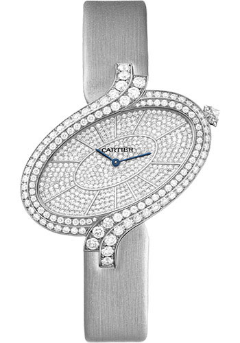 Cartier Watches - Delices de Cartier Extra Large White Gold - Style No: WG800022