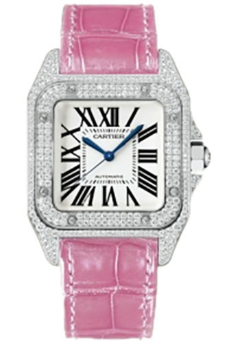 Cartier Watches - Santos 100 Medium - Style No: WM501751