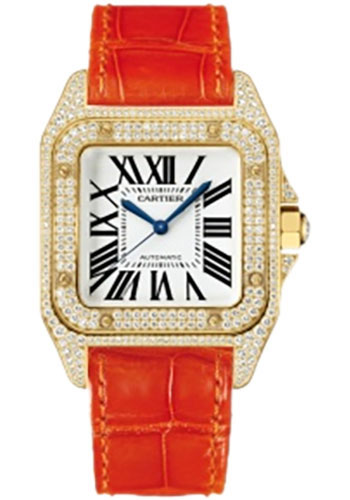 Cartier Watches - Santos 100 Medium - Style No: WM502051